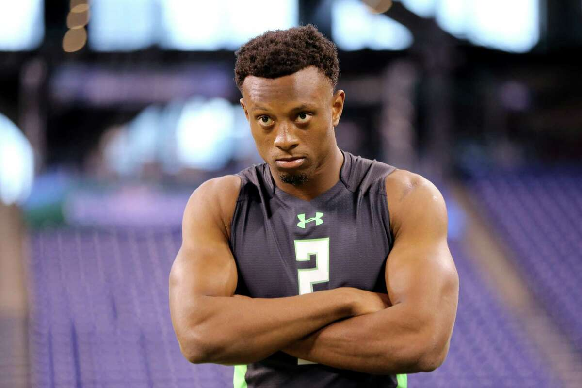 Ohio State defensive back Eli Apple is seen at the NFL football scouting combine Monday, Feb. 29, 2016, in Indianapolis. Apple being asked if he likes men is just one of many strange - and sometimes inappropriate questions - players are asked at the NFL combine. Browse through the photos to see other examples.