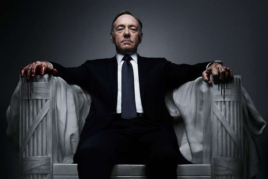"""""""House of Cards"""" follows a complex, """"MacBeth""""-like power couple. And its hero, Frank Underwood, even gives soliloquies, addressing the audience directly.  Photo: NETFLIX"""