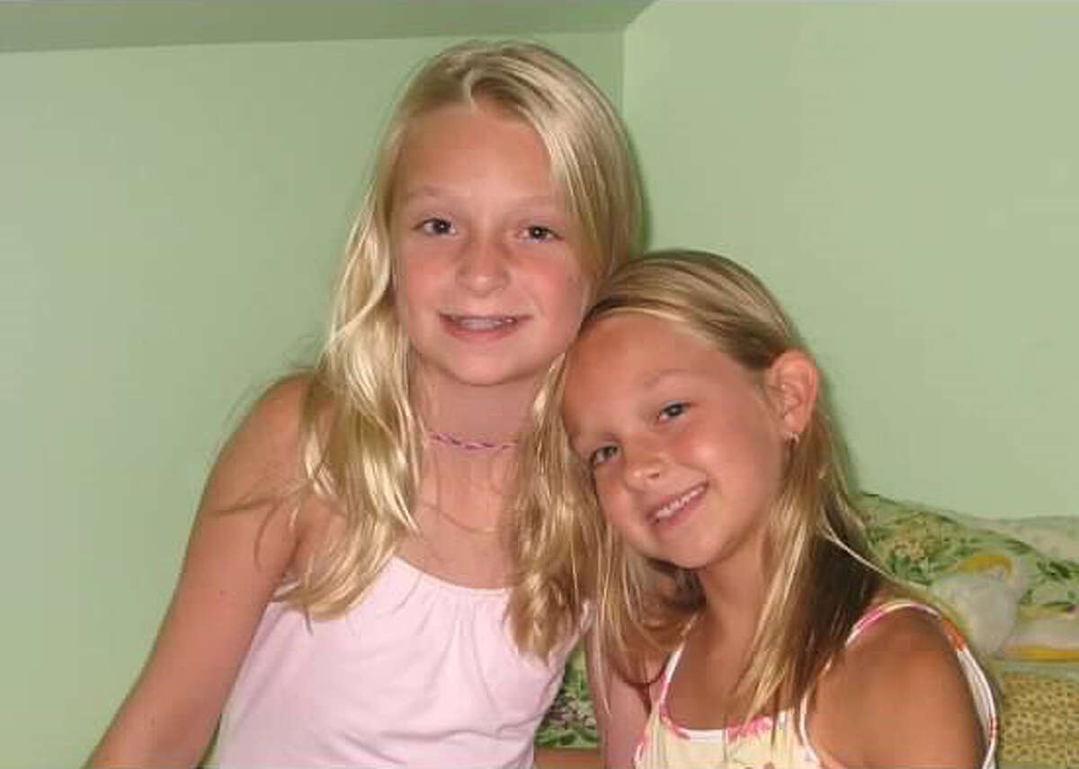 Julia Maslin, left, and her sister Alyssa. Julia Malsin died on Jan. 27, 2012, a year after she was diagnosed with severe aplastic anemia, a rare bone marrow failure disease. Julia's Wings Foundation was established in her memory in 2013 and now raises money for research and children with the disease.