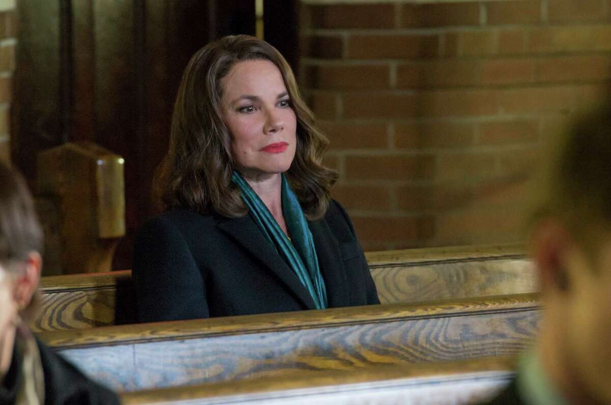 Barbara Hershey plays a strange woman who seems to know everything about Damien and says she wants to protect him.