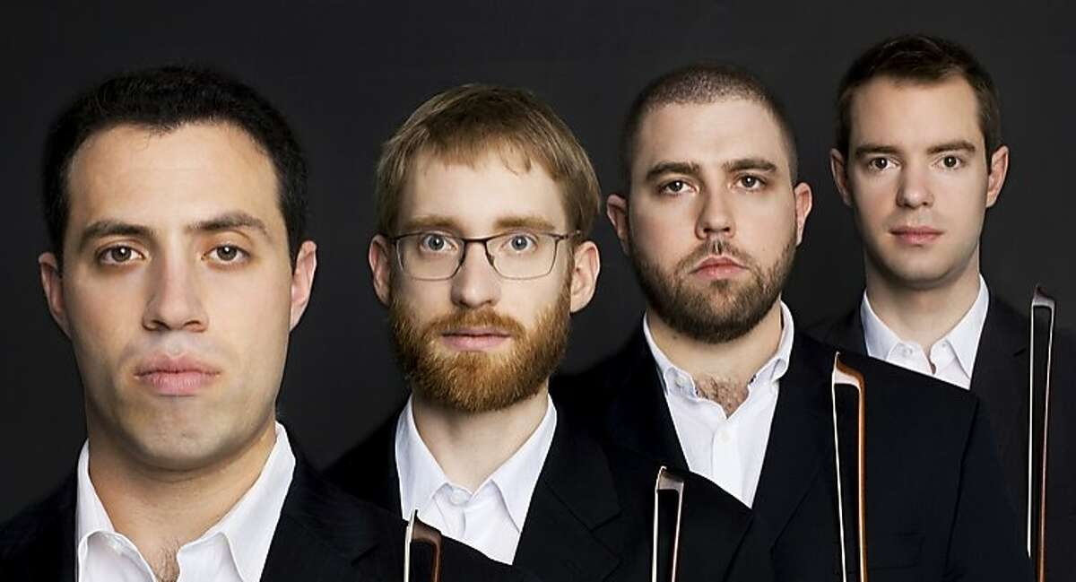 The Jack Quartet performs Friday at the Strand Theatre in San Francisco