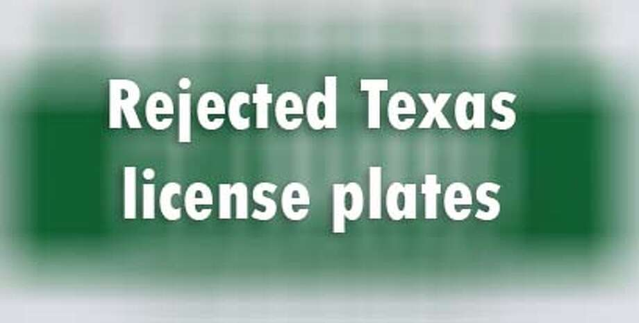 The DMV says these custom license plates were going nowhere.