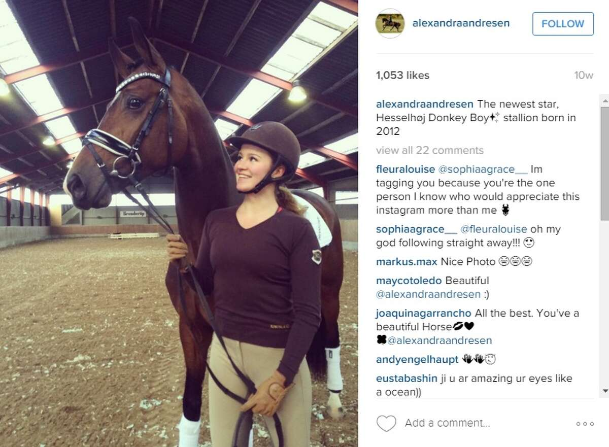 3. She is takes dressage competitions seriously The majority of her social media posts pertain to her hobby, which has been sponsored by three dressage outfitters.