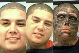 This trio of mugshots showsJacob Joe Pauda various arrests over the past decade.