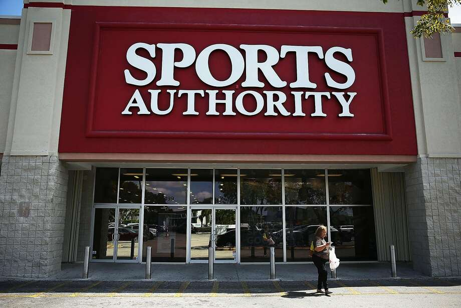 A Sports Authority store was photographed on March 2, 2016 in Miami, Fl.,as the company filed for Chapter 11 bankruptcy. Photo: Joe Raedle, Getty Images