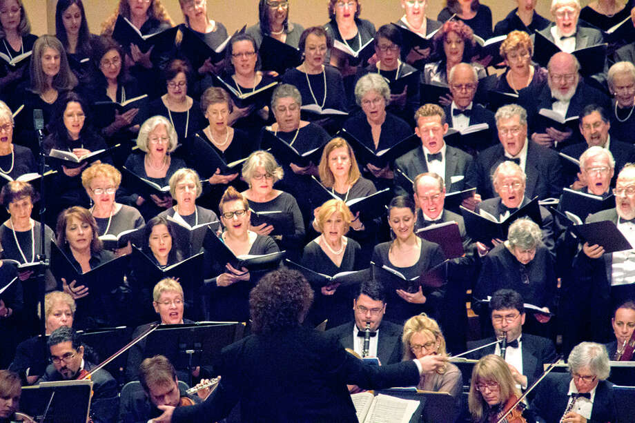 "Maestro David Rosenmeyer will conduct an ""Americana"" concert with the Fairfield County Chorale on Saturday, March 12, at the Norwalk Concert Hall. Photo: Contributed Photo / Connecticut Post Contributed"