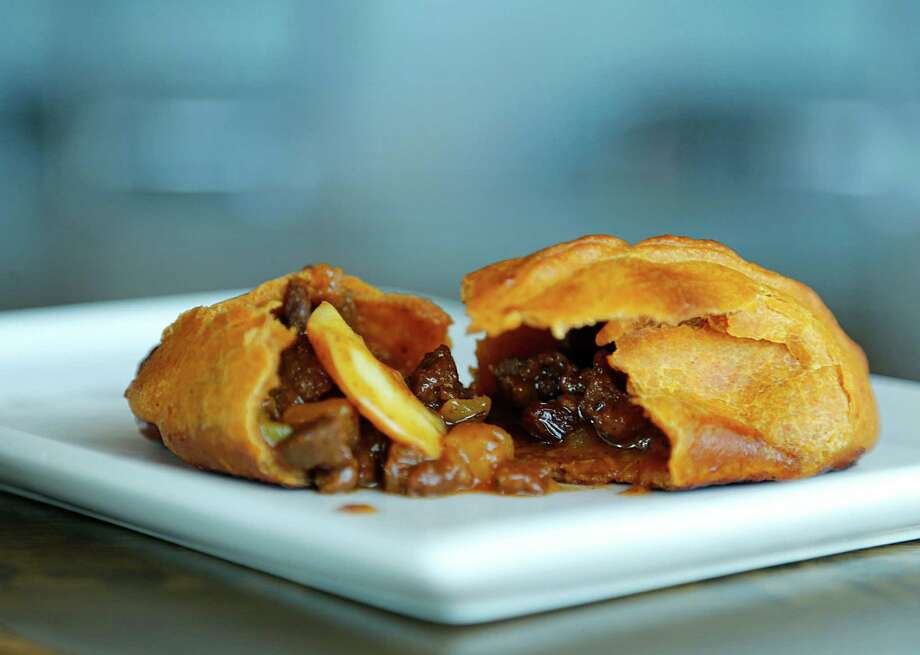 Saltena de Carne at Andes Cafe Photo: James Nielsen, Staff / © 2015  Houston Chronicle