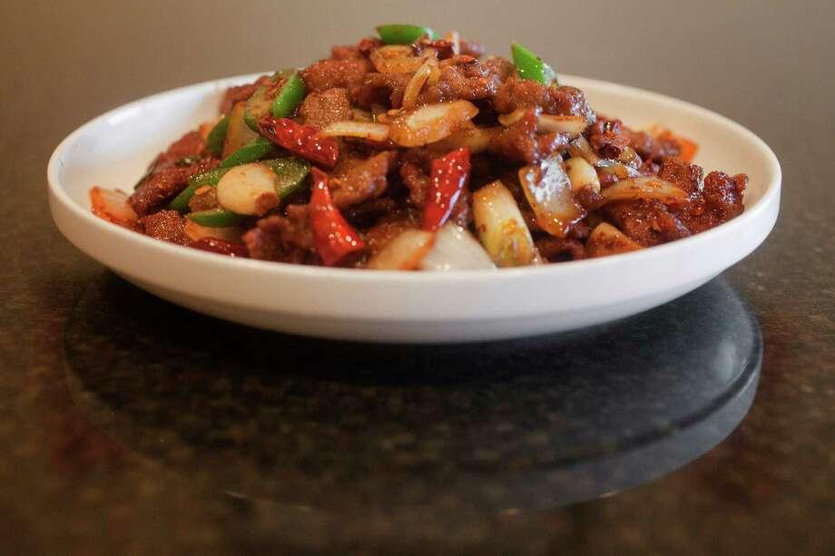 Cumin beef at Mala Sichuan Bistro Photo: TODD SPOTH, Photographer / Todd Spoth