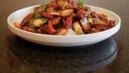 Cumin beef at Mala Sichuan Bistro