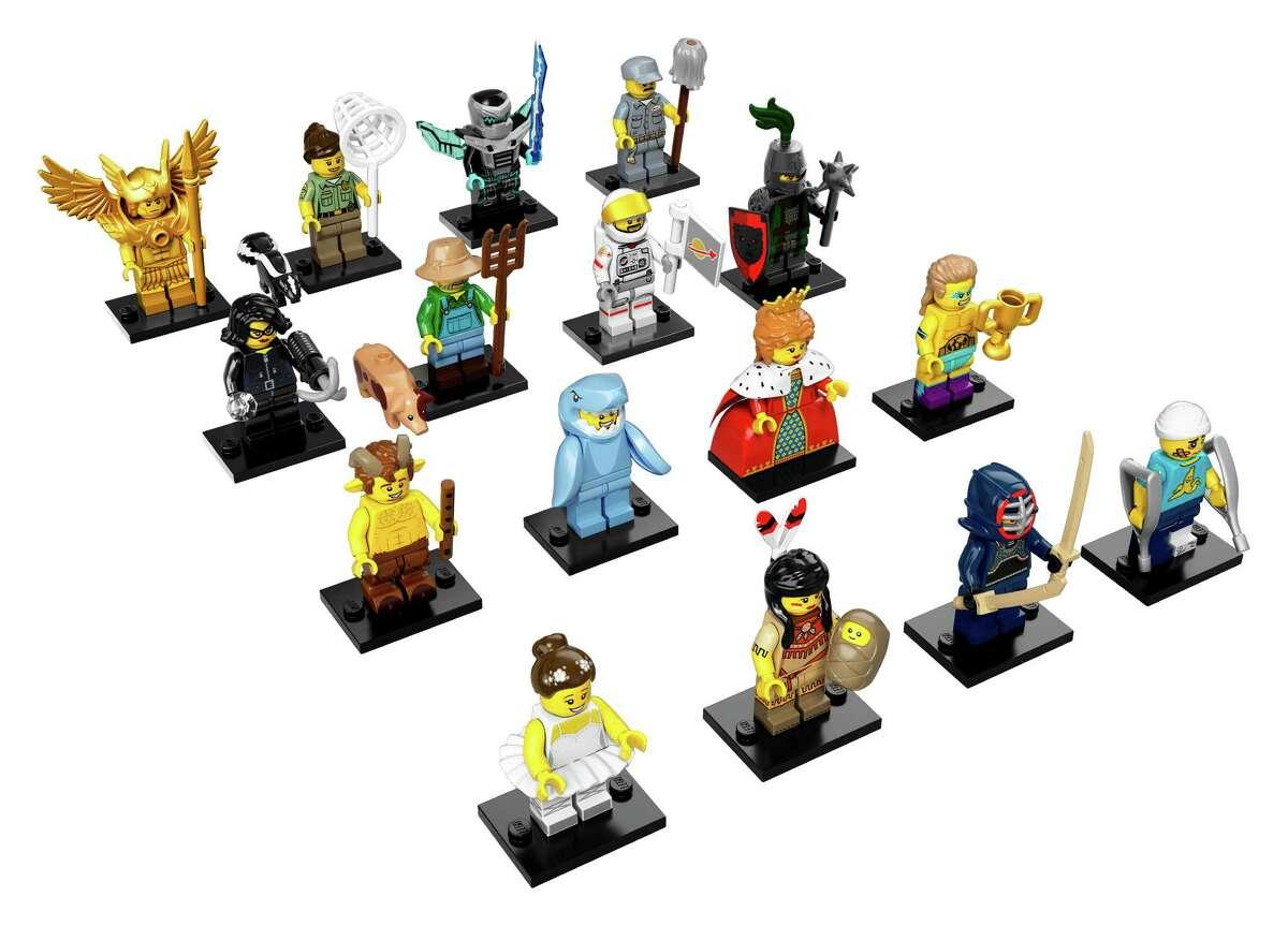 The LEGO minifigures series 15.