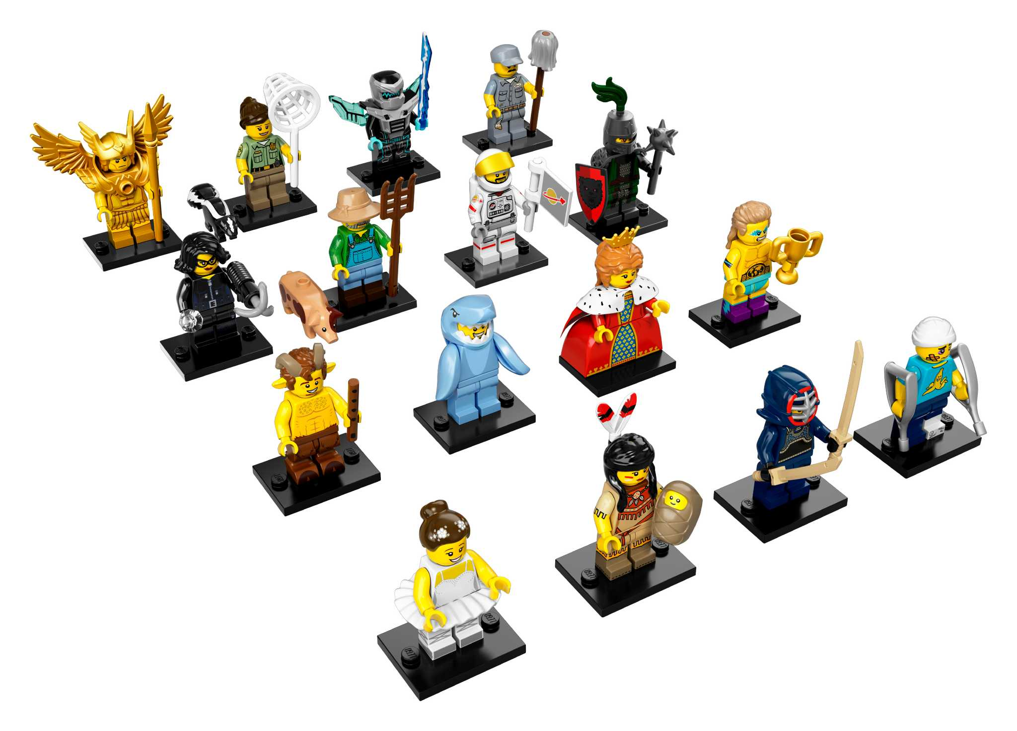 lego minifigures unveil left shark and other offerings sfgate. Black Bedroom Furniture Sets. Home Design Ideas