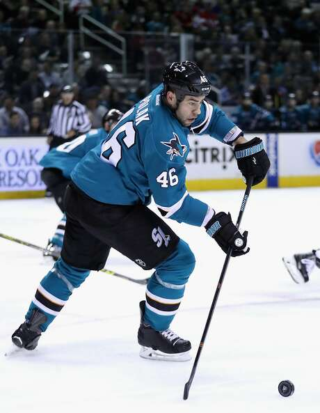 Roman Polak has gotten off to a good start in San Jose, but will the Sharks be willing to pay top keep him this offseason? Photo: Ezra Shaw, Getty Images