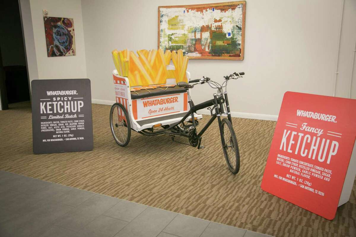 """Whataburger will be helping those at Austin's """"Southby"""" get by via French fry pedicabs as part of a local initiative to showcase the best of San Antonio at one of the biggest events in Texas."""
