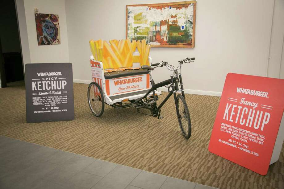 """Whataburger will be helping those at Austin's """"Southby"""" get by via French fry pedicabs as part of a local initiative to showcase the best of San Antonio at one of the biggest events in Texas. Photo: Provided By Whataburger"""