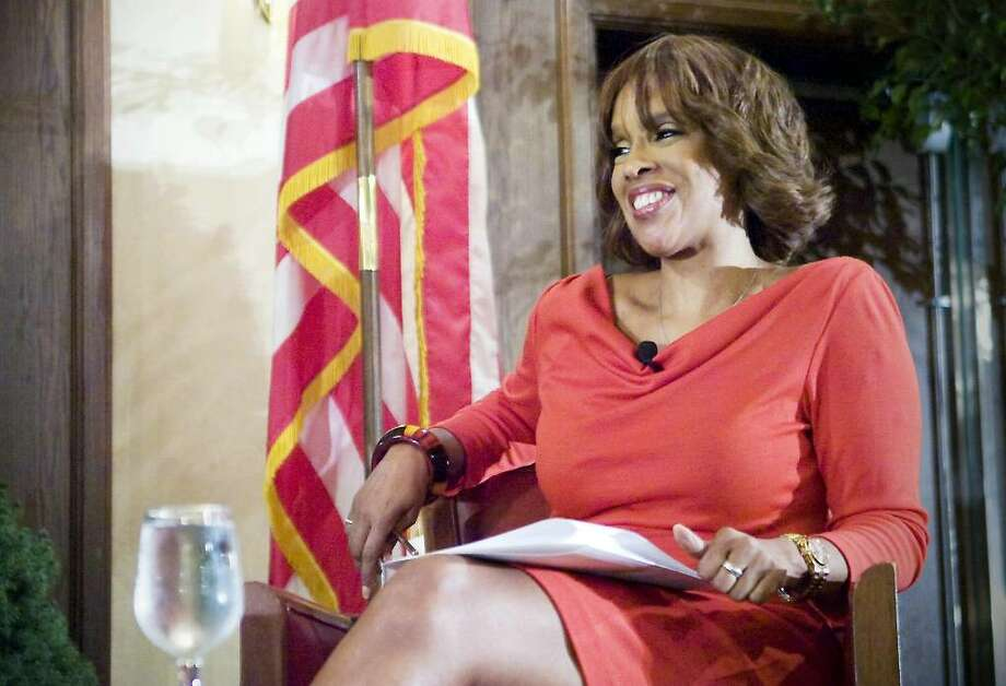 Greenwich resident Gayle King, Editor-At-Large of O, The Oprah Magazine, speaks at an Urban League event in Stamford in 2009. Photo: File Photo / Stamford Advocate File Photo