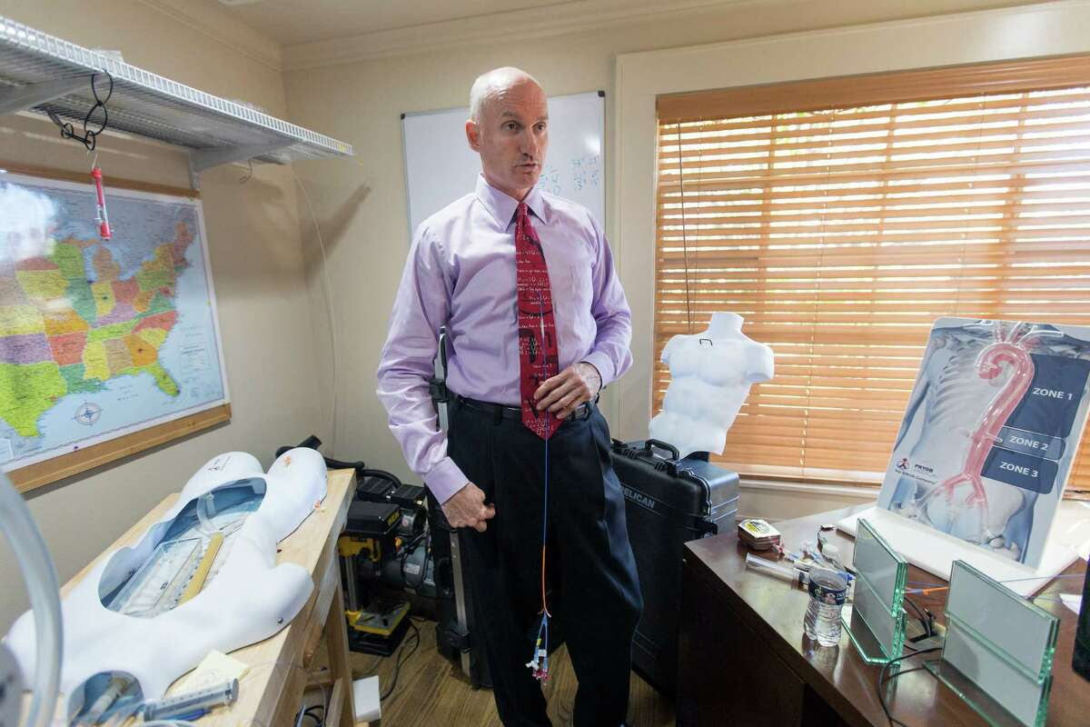 Prytime Medical Devices, based in Boerne, launched sales of its new ER-REBOA Catheter to top-level trauma centers around the country in January. The medical device uses a catheter and an inflatable balloon to temporarily stop internal bleeding until surgery or life-saving measures can be done on patients with traumatic injuries. San Antonio entrepreneur and investor David Spencer is president and CEO of the privately held company, which has 14 employees.