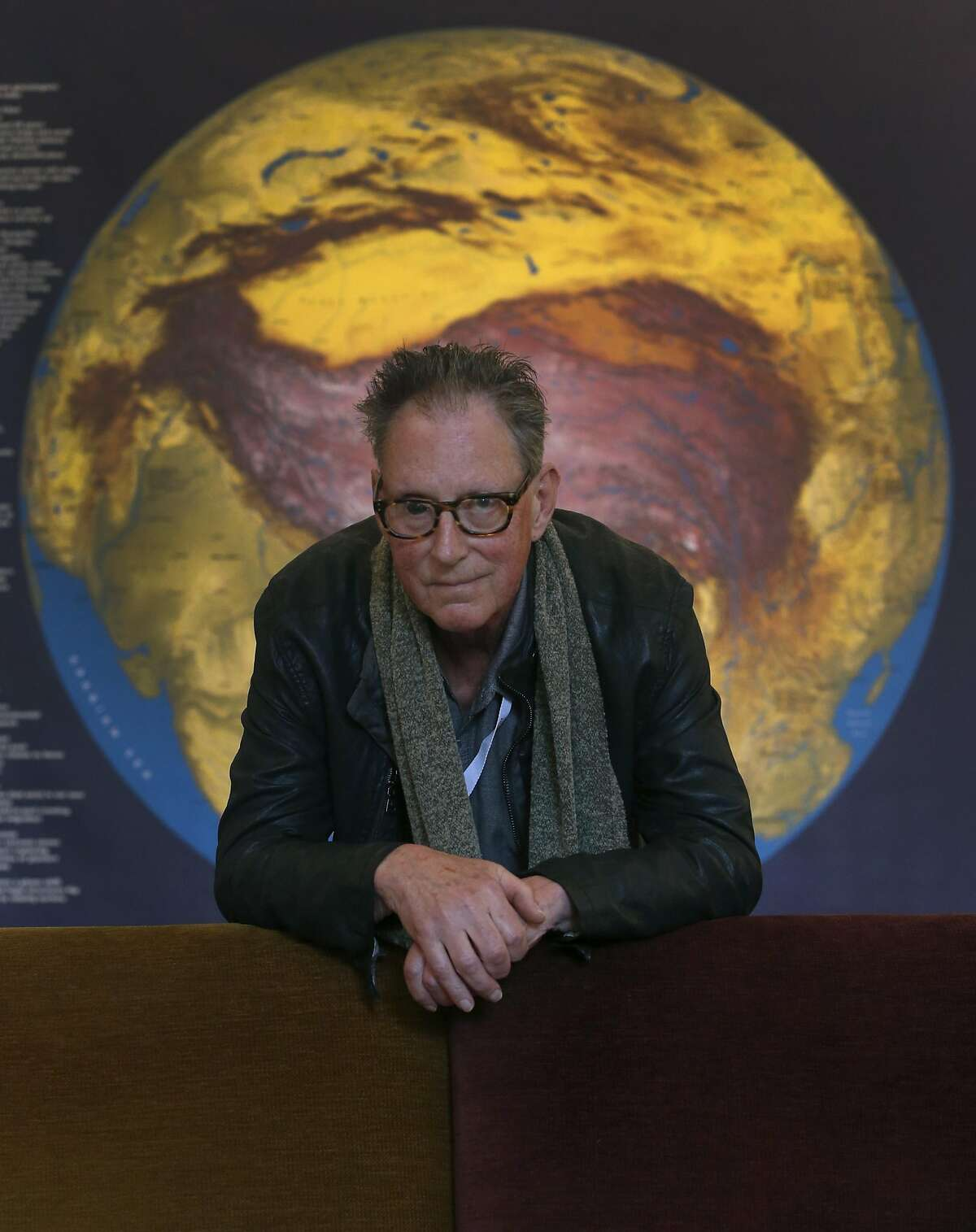 Animator Paul Vester is seen at the David Brower Center where a retrospective of his best animations were screened for the GLAS Animation Festival inBerkeley on March 4, 2016.
