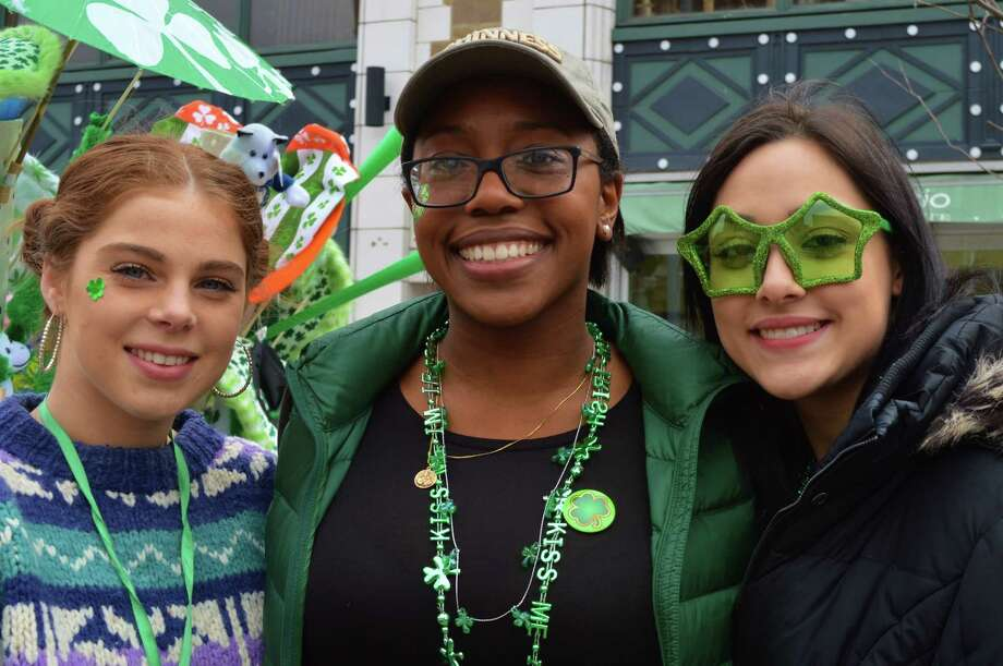 Were you SEEN celebrating St. Patrick's Day early at Tigin Irish Pub in Stamford during the city's annual St Patrick's Day parade March 5, 2016?View more photos Photo: Todd Tracy / Hearst Connecticut Media Group