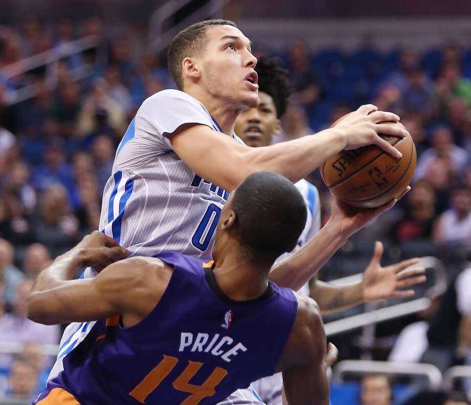 Orlando's Aaron Gordon is averaging 8.4 points and 6.5 rebounds a game in his second season. Photo: Stephen M. Dowell, TNS