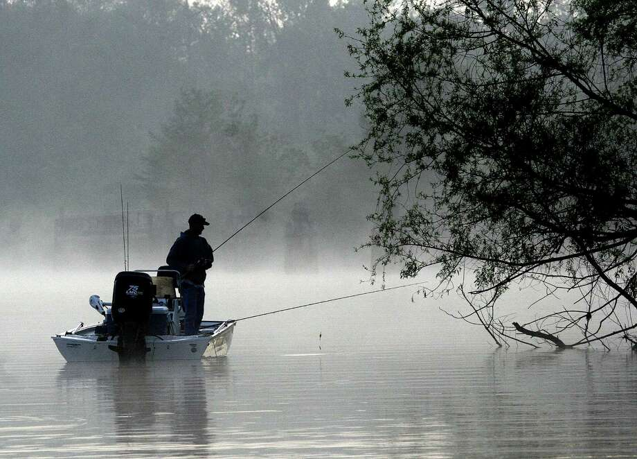 Crappie anglers in East and Southeast Texas are enjoying the effects of an unusually early spring, finding excellent fishing weeks before they normally would see it. Photo: Shannon Tompkins / Shannon.Tompkins@chron.com