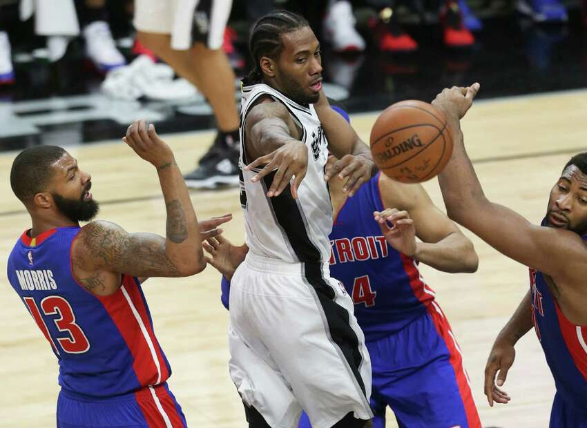 3. Kawhi's next step NBA players typically take the offseason to hone particular skills and add new ones. Last year, Leonard unexpectedly transformed into one of the best shooters in the league. The next step in his game might be an improved play-making ability - he's never averaged more than 2.6 assists per game in his career.