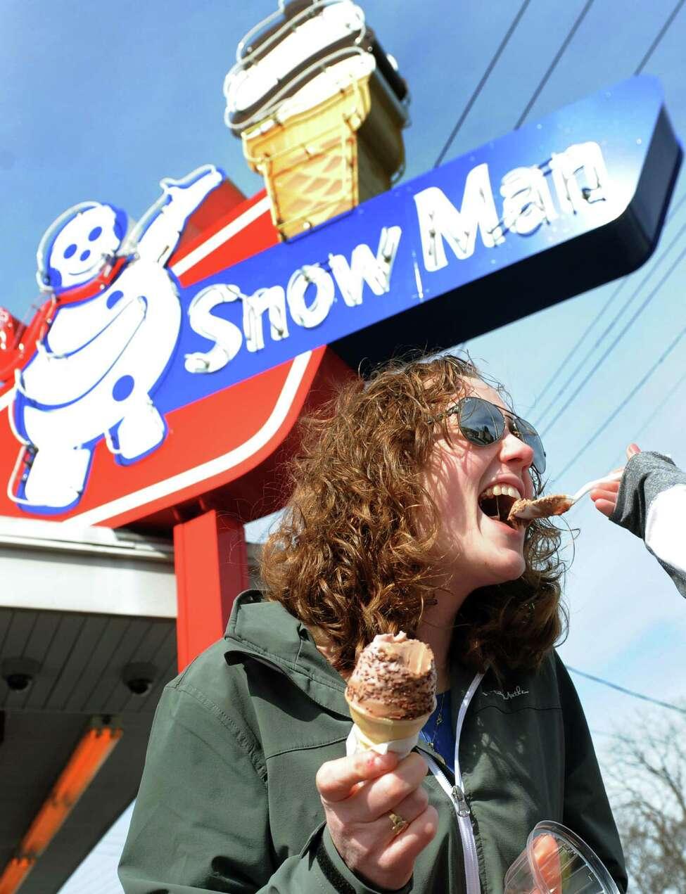 2. Snow Man , 531 5th Ave., Troy