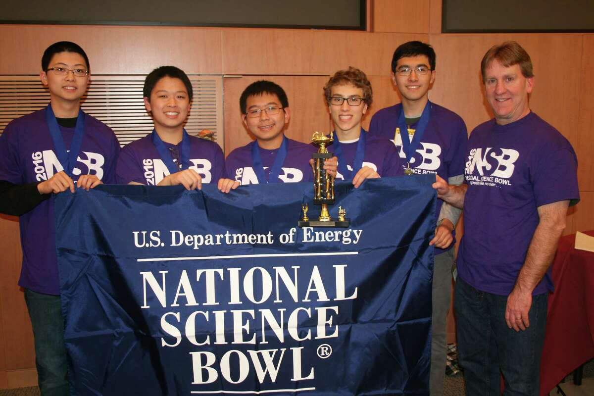 Bethlehem Team 1 came in first place in the high school category in Saturday's National Science Bowl Regional Qualifying Tournament held Saturday at GE Global Research. (Courtesy Todd E. Alhart)