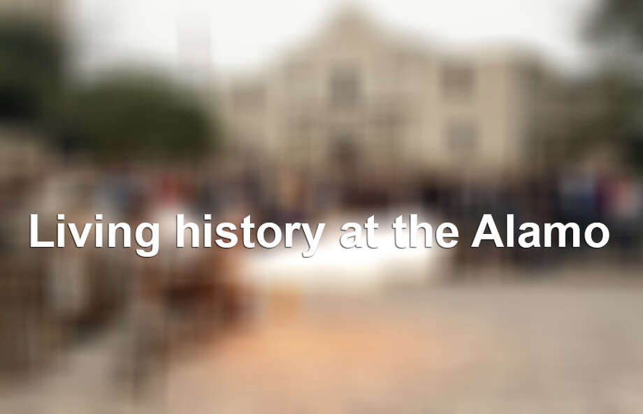 Living history at the Alamo Photo: File Photo