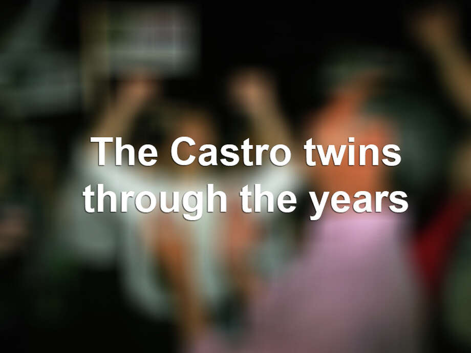 The Castro brothers through the years Photo: BAHRAM MARK SOBHANI, File / SAN ANTONIO EXPRESS-NEWS