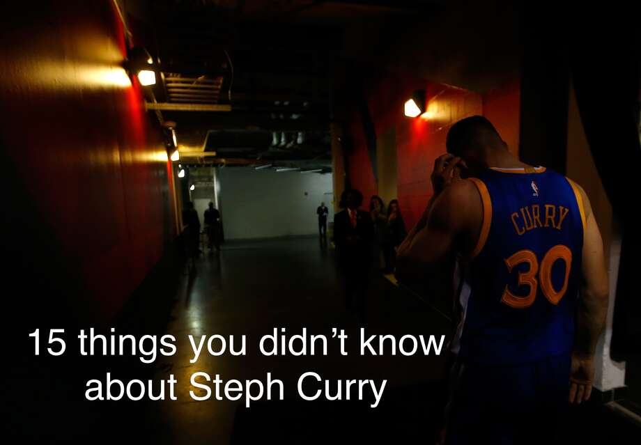 Today is Steph Curry's 28th birthday. Click ahead to learn 15 fun facts about the Warriors star. Photo: Kevin Cox/Getty Images, Photo Illustration