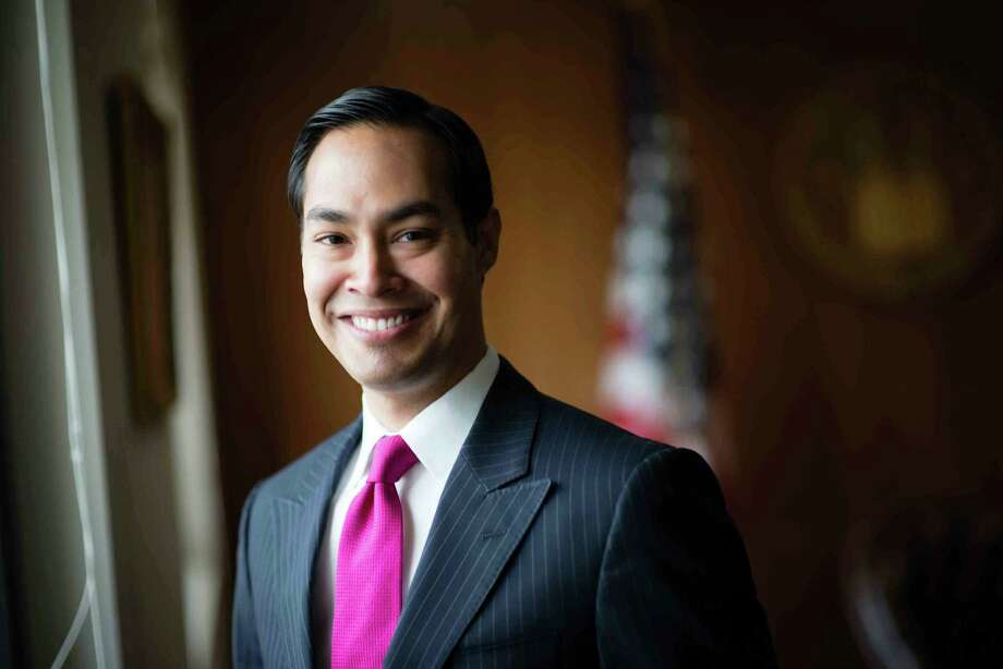 Julian Castro, Secretary of Secretary of Housing and Urban Development is pictured in his office, could be VP next year — or out of a job. He's ready either way. MUST CREDIT: Washington Post photo by Sarah L. Voisin. Photo: Sarah L. Voisin, The Washington Post / The Washington Post / The Washington Post