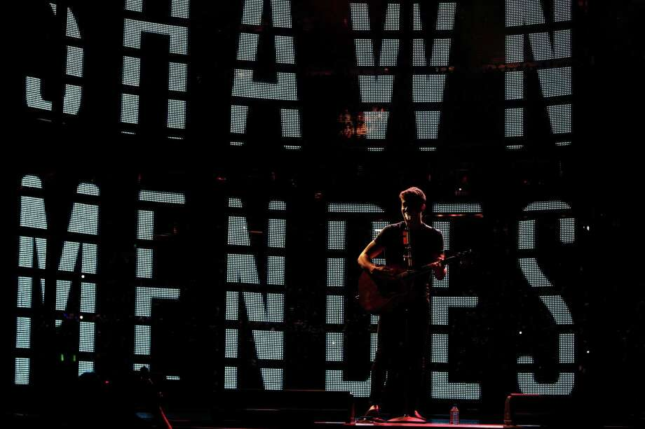 Shawn Mendes performs at the Houston Rodeo Sunday, March 6, 2016, in Houston. Photo: Steve Gonzales Steve Gonzales, Houston Chronicle / © 2016 Houston Chronicle