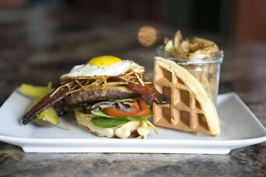 Morning After Burger as served by Craft Burger Food Truck. Photo: Courtesy / Craft Burgers