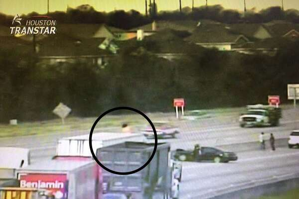 Naked dancing woman on top of big rig ties up 290 traffic in Houston