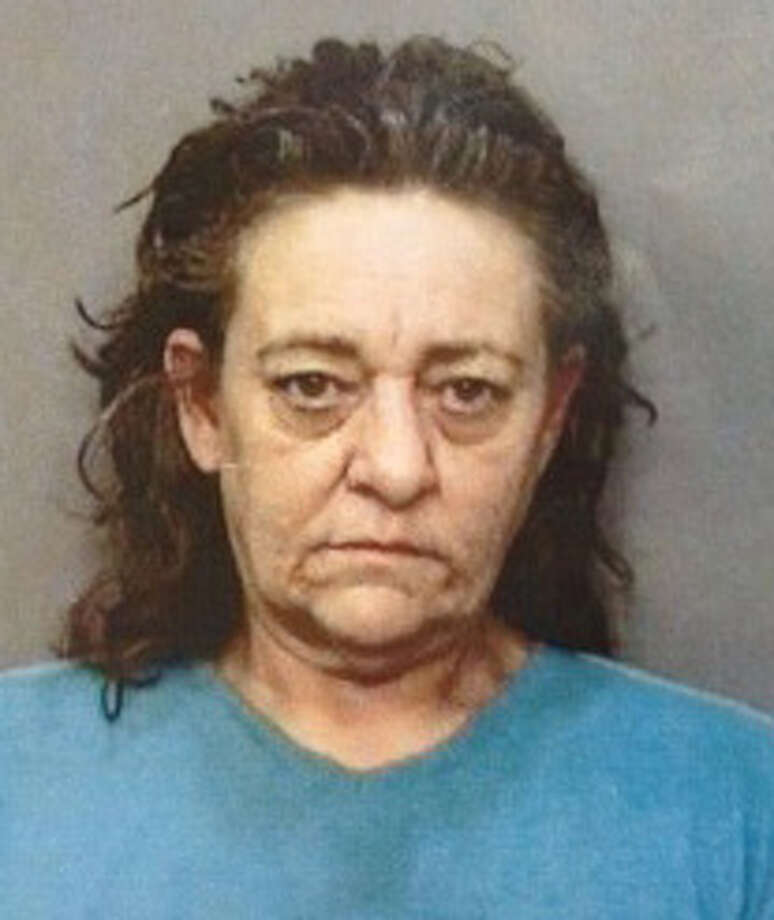 Sharon Kay Turman is wanted by Redding police after escaping in a minivan painted like the Scooby-Doo Mystery Machine. Photo: Redding Police Dept.