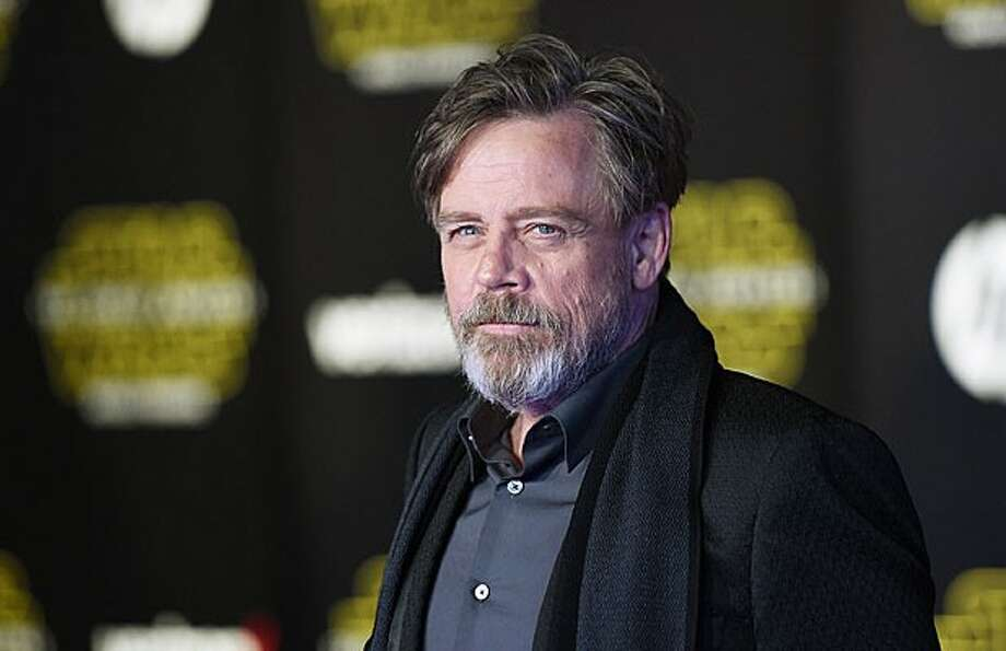 """Star Wars"" actor Mark Hamill gave Disneyland guests on a Star Tours ride a big surprise."
