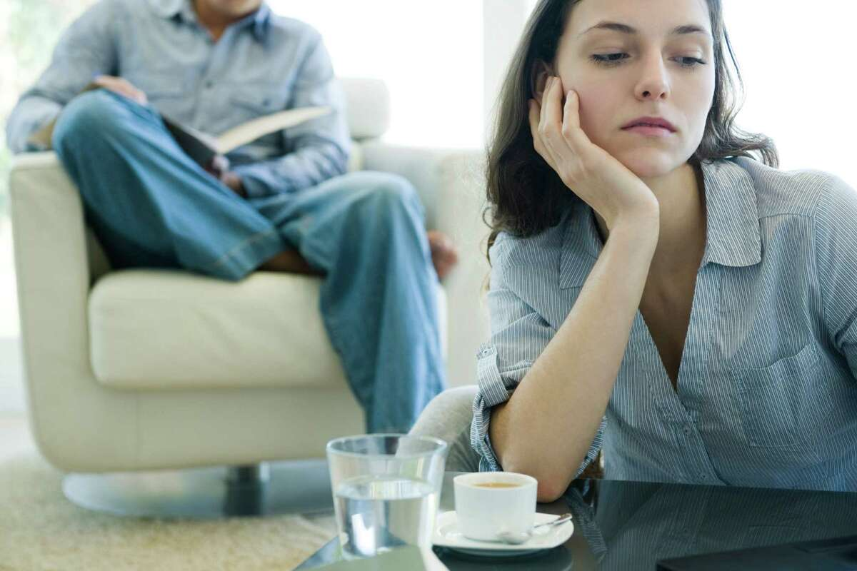 A woman is having difficulty dealing with a miscarriage.