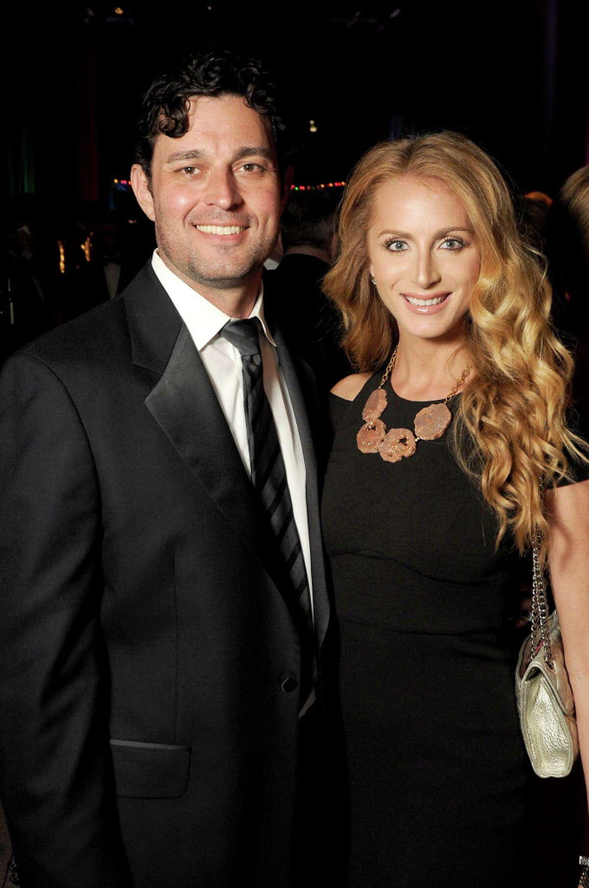 John Papadopoulos and Rebecca Hobart
