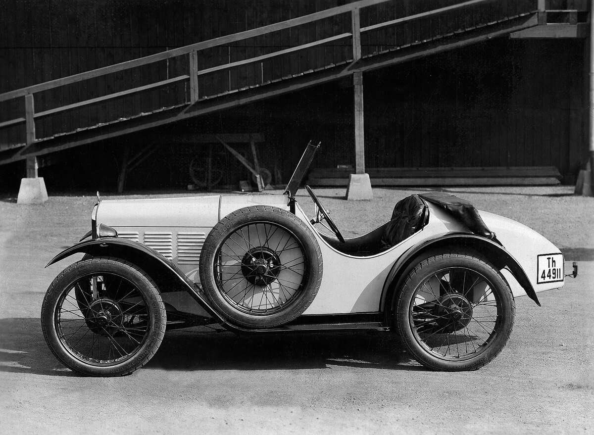 The company's first sports car the BMW 3/15 DA 3 Wartburg, seen here in 1931, was a variant of the 3/15.