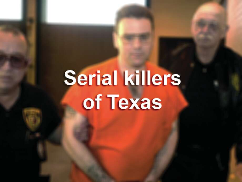 Scroll through the slideshow to see photos of infamous Texas serial killers.
