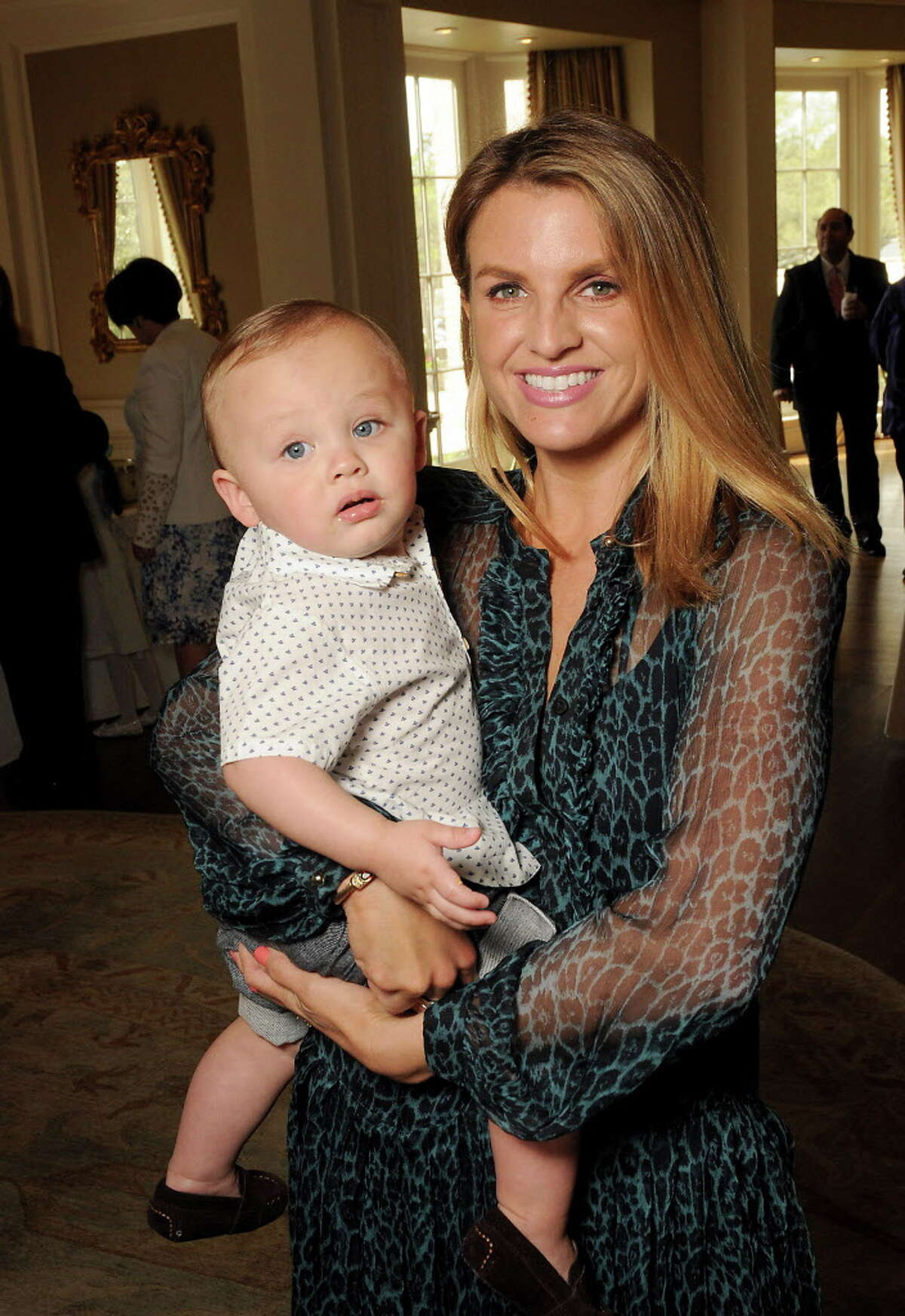 Jana Arnoldy with her son Alec