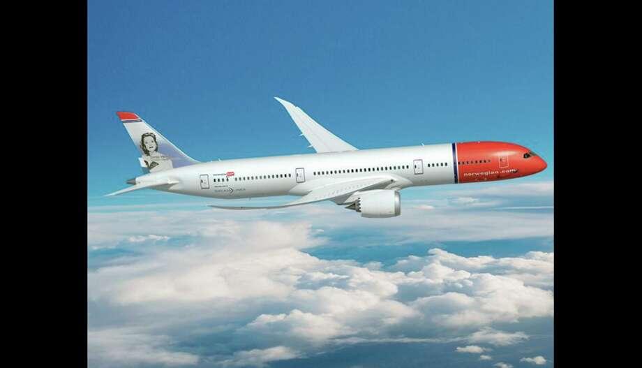 Norwegian uses 787s on its transatlantic routes.
