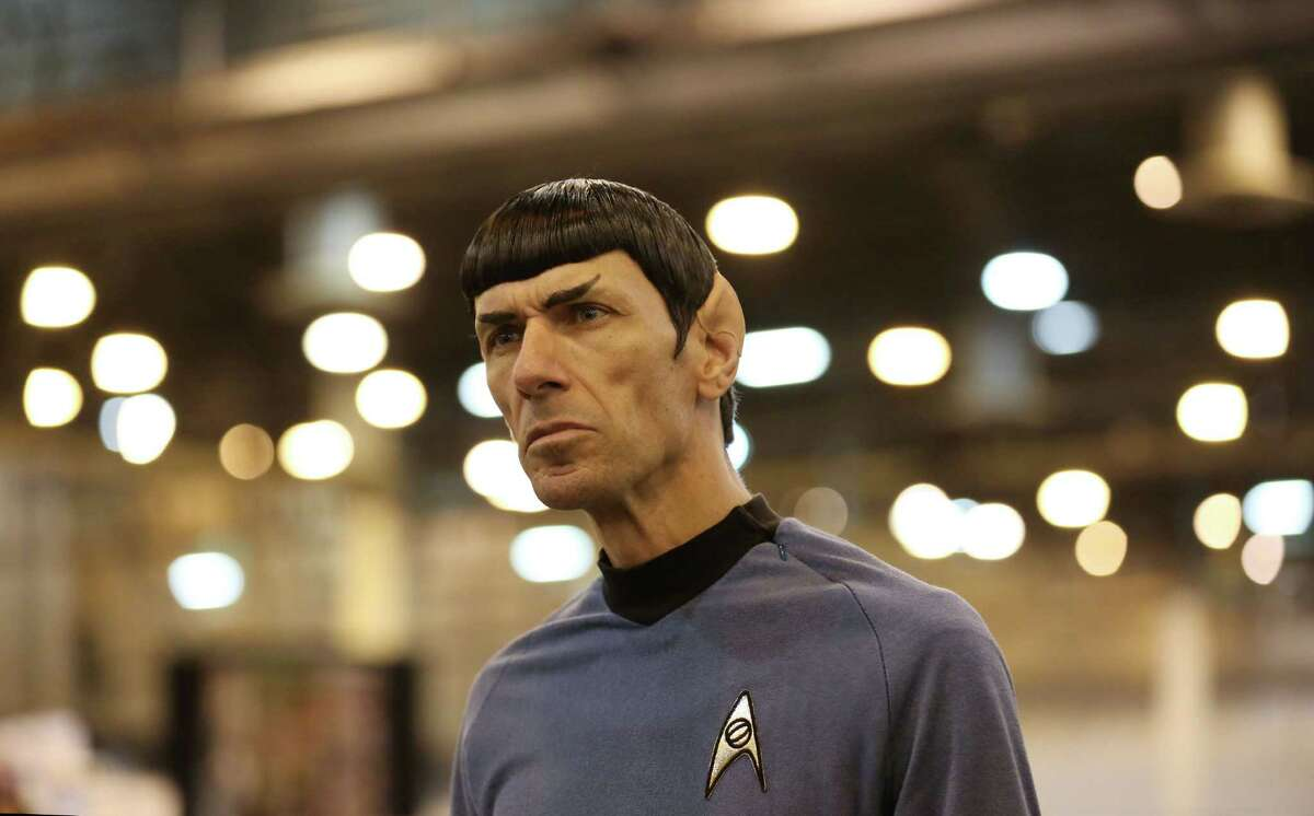"""Paul Forest, also known as """"Spock Vega,"""" watches fans at the Space City Comic Con last July. The event returns to NRG Center this Memorial Day weekend."""