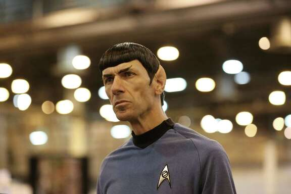 "Paul Forest, also known as ""Spock Vega,"" watches fans at the Space City Comic Con last July. The event returns to NRG Center this Memorial Day weekend."