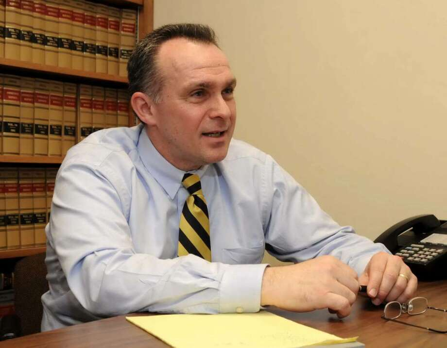 Danbury State's Attorney Stephen Sedensky III at the Danbury Superior Court on Tuesday March 23, 2010. Photo: Lisa Weir / The News-Times