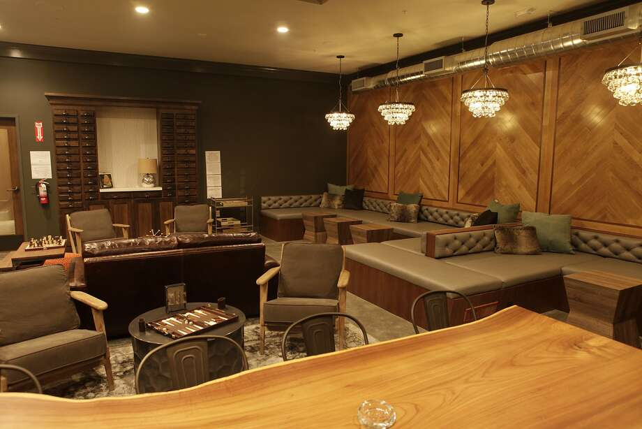 Harvest private membership lounge. Photo: Justin Glardon, Special To The Chronicle