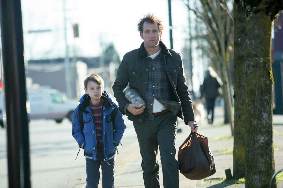 "Jaeden Lieberher and Clive Owen, pictured in ""The Confirmation."" Written and directed by Bob Nelson, the film is set in Kent and is slated to be released March 18, 2016. Photo: Lionsgate"