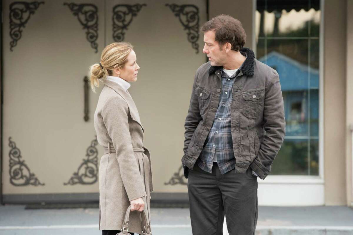 Maria Bello and Clive Owen, pictured in