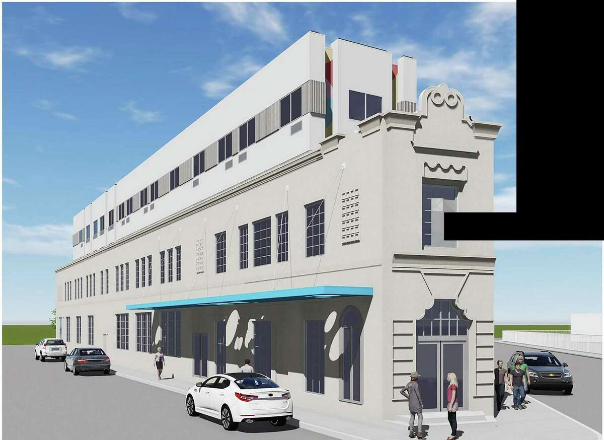 Renderings of a future proposed hotel at 901 E Houston Street in downtown San Antonio.