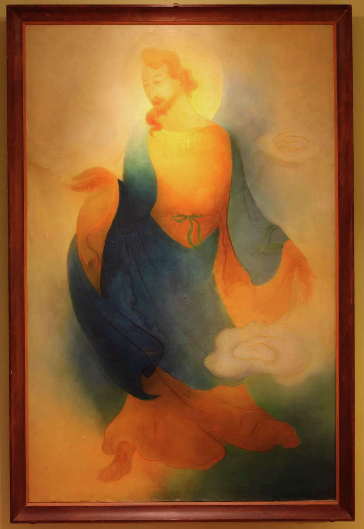 """""""The Chinese Jesus"""" by Tyrus Wong"""